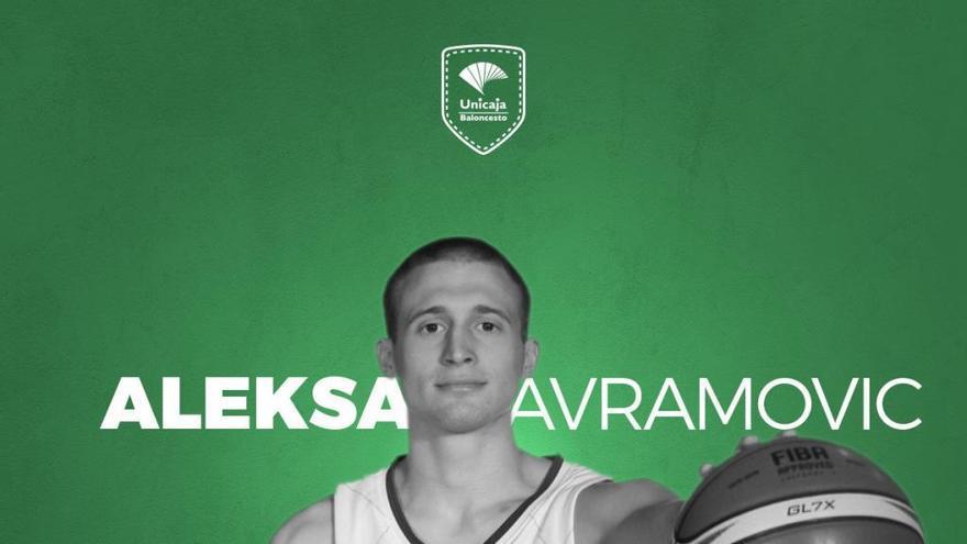 Oficial: El Unicaja ficha a Aleksa Avramovic
