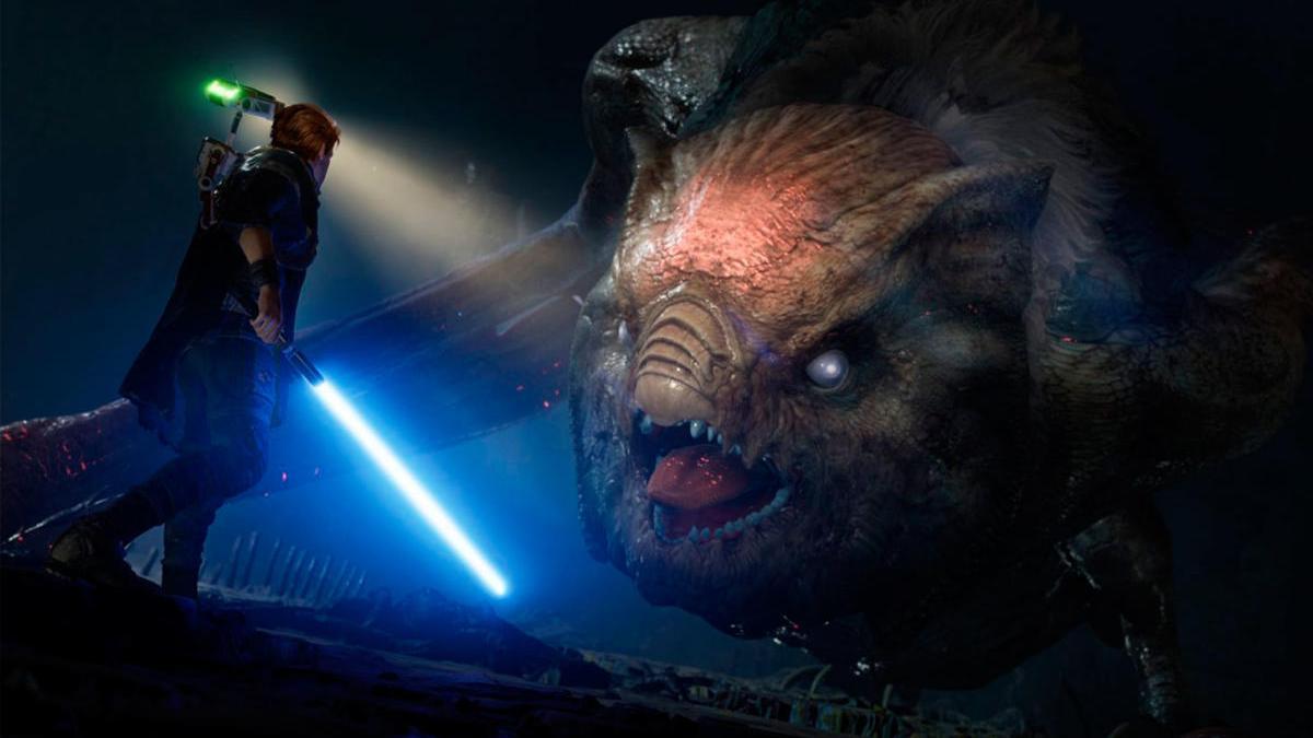 Fotograma de 'Star Wars Jedi: Fallen Order'.