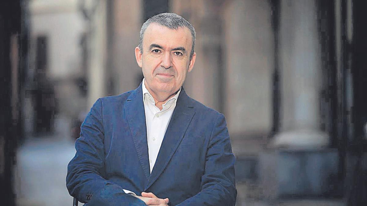 El escritor madrileño Lorenzo Silva.