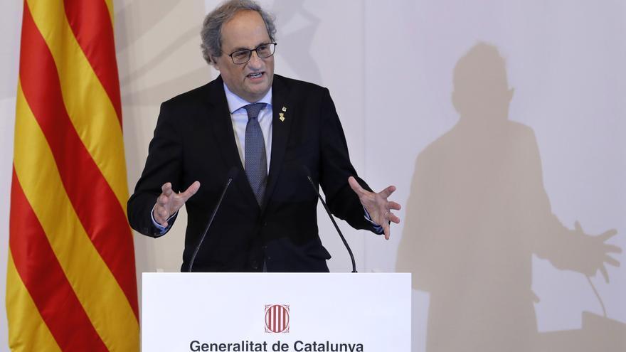 La Junta Electoral notifica a Torra la ejecución de multas por 8.500 euros