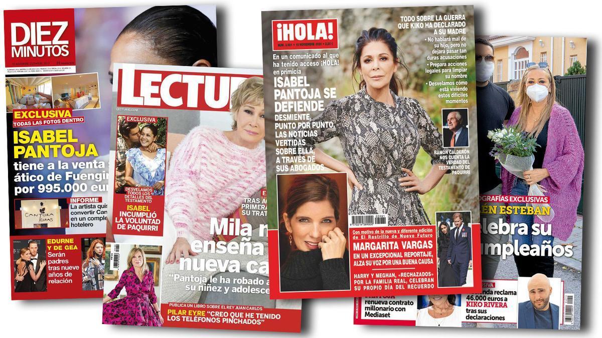Prensa Rosa: Portadas 11/11/2020