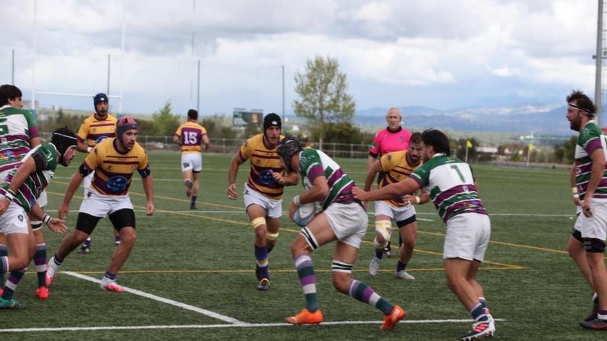 El Club de Rugby Málaga roza el milagro
