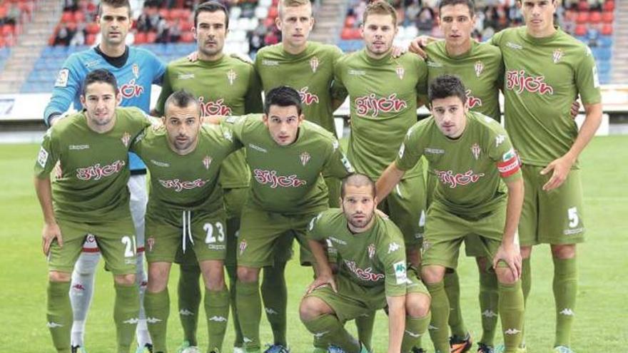 El Sporting repetirá de verde en Gerona