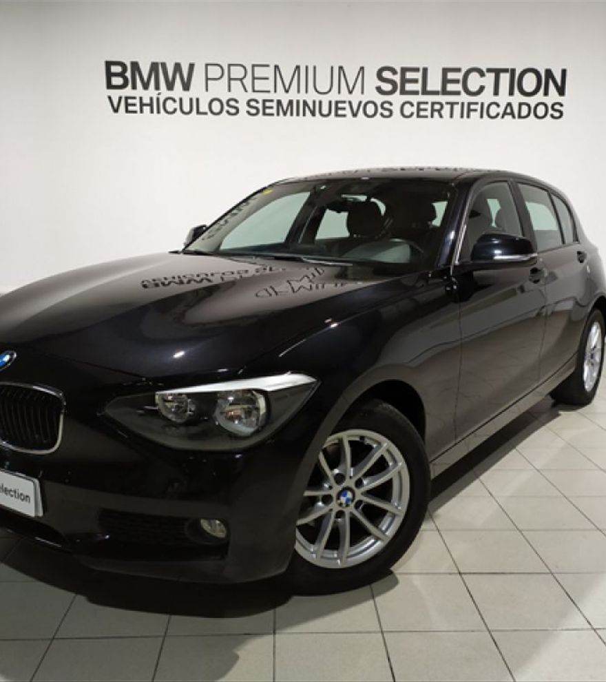 BMW Serie 1 116d Diésel Manual 2014 Negro