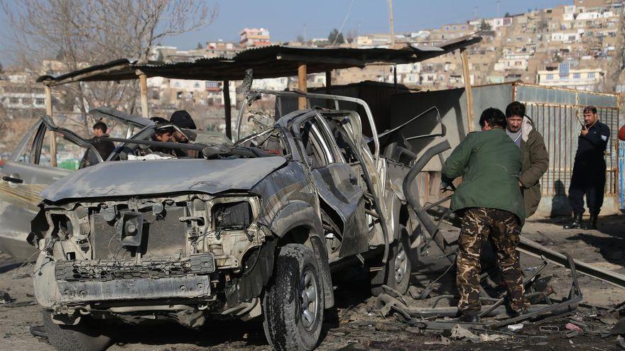 Al menos 8 muertos y 54 heridos en un atentado en Afganistán
