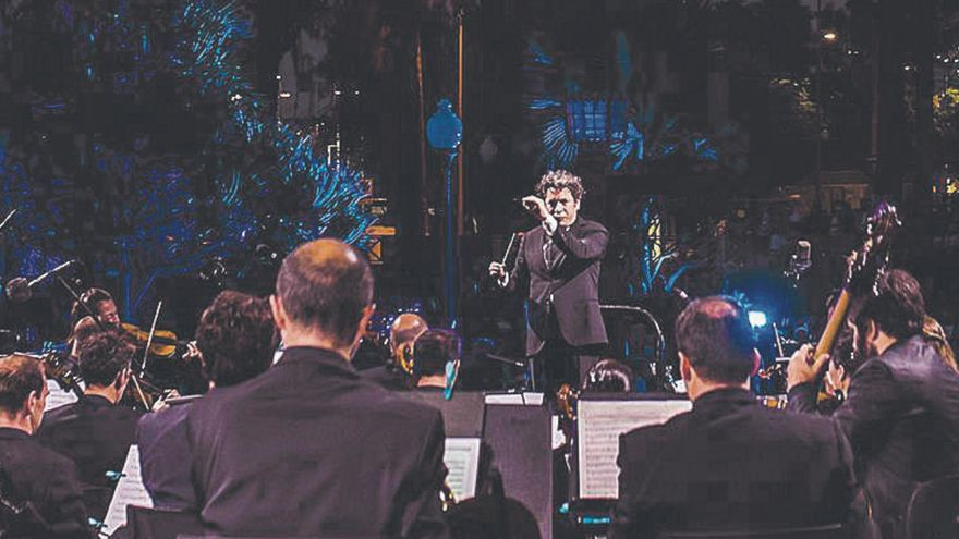 Dudamel y la  Mahler Orchestra, al aire libre en la capital grancanaria