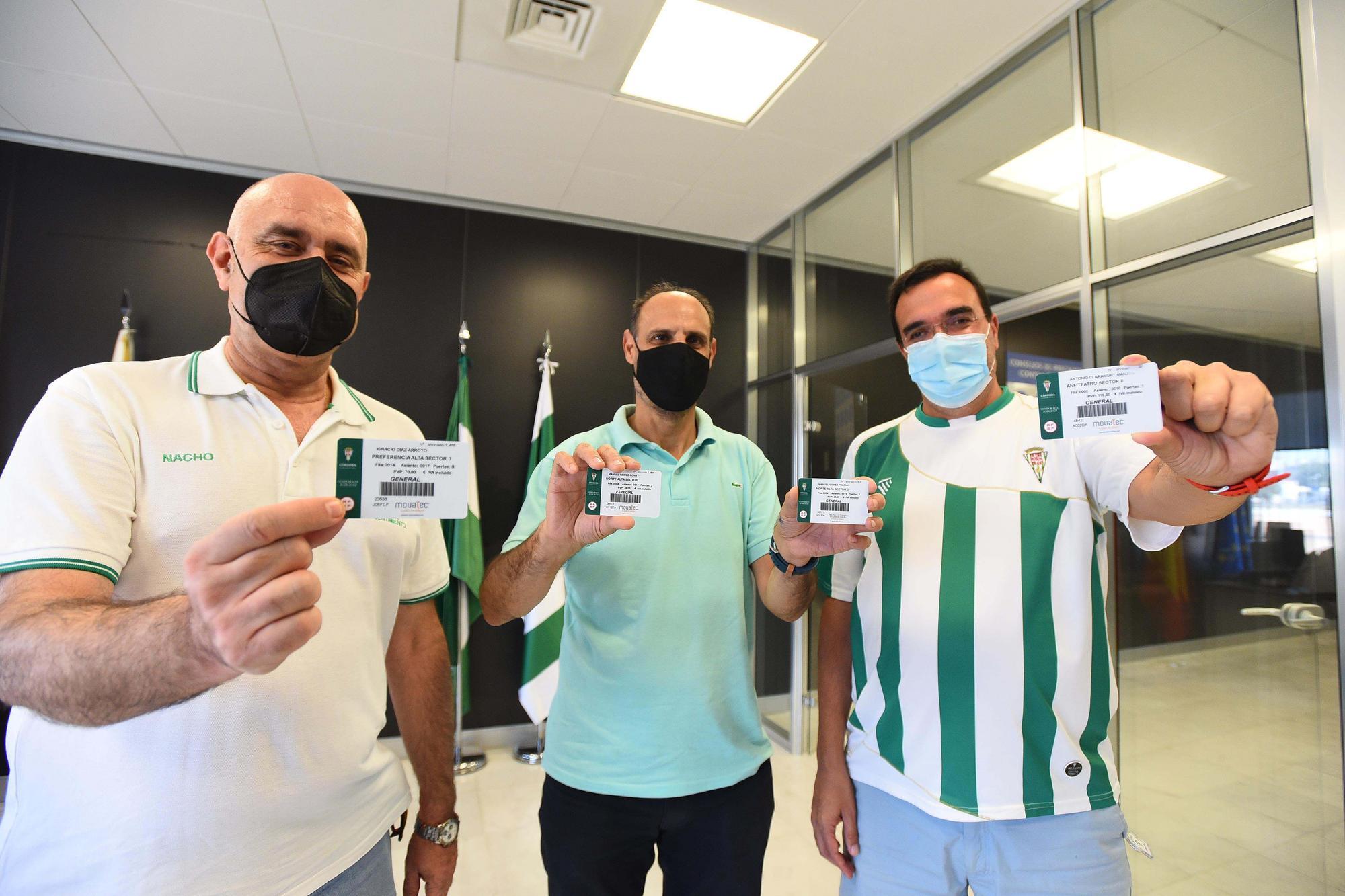 El Córdoba CF comienza su campaña de venta de abonos