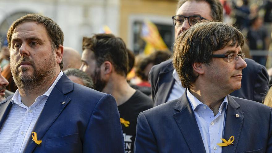 """Carles Puigdemont: """"Si me presentase y el Parlament me invistiese, volvería"""""""