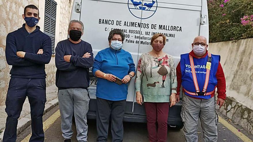 La solidaridad de los vecinos de es Capdellà