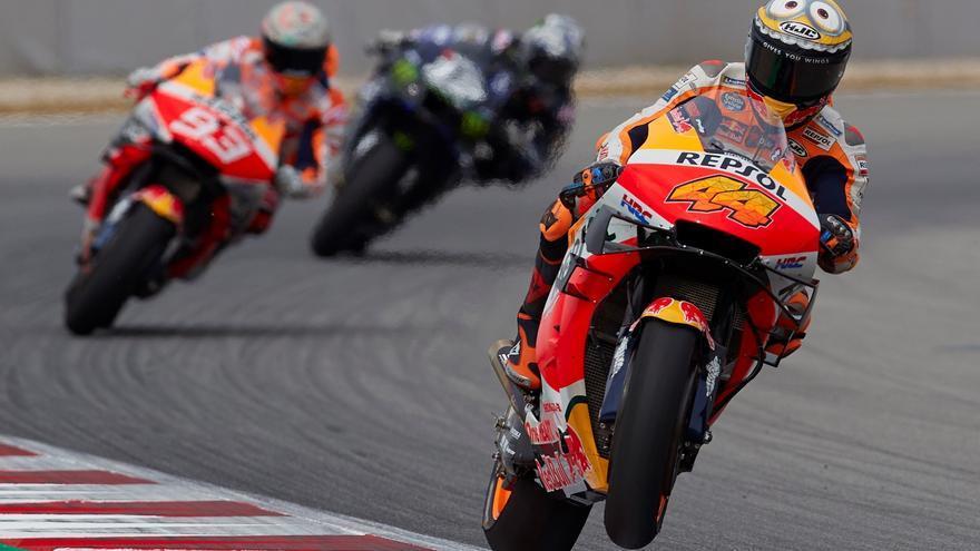 Zarco se impone sobre la bandera de cuadros en los libres de Cataluña de MotoGP