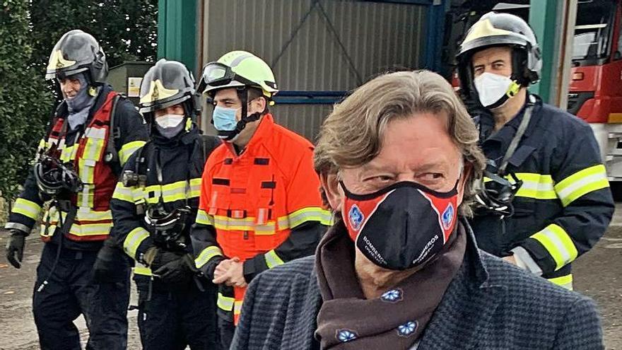 Los bomberos se forman en un modelo internacional de gestión de emergencias