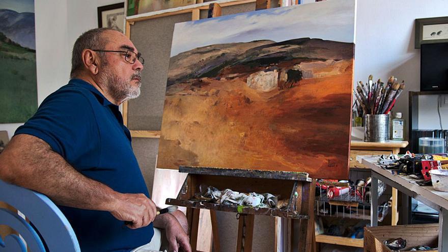 Juan Guerra muestra paisajes imaginados  con atmósferas  de ensueño