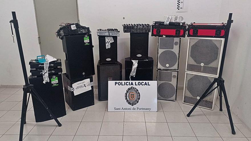 Sant Antoni ha paralizado 34 fiestas ilegales desde junio