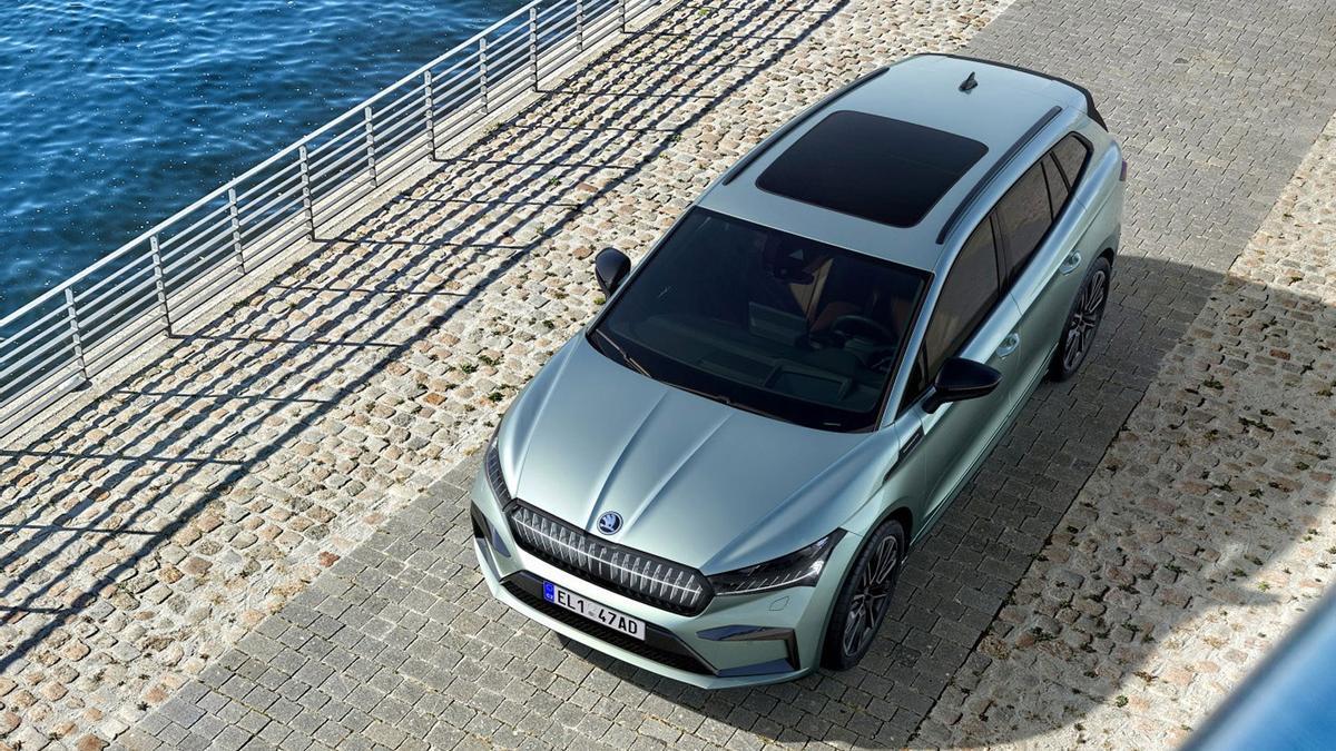 El nuevo ŠKODA Enyaq iV es el primer SUV 100% eléctrico de la marca.