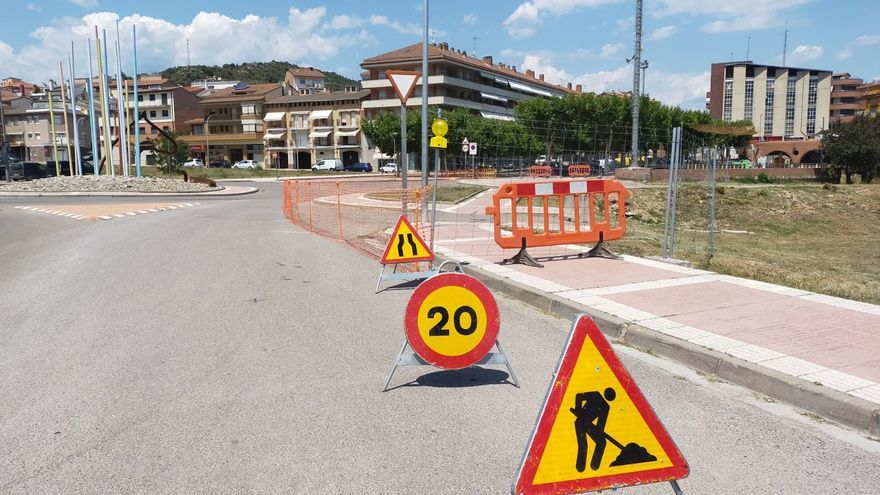 Puig-reig arranca les obres per fer un espai verd al centre del municipi
