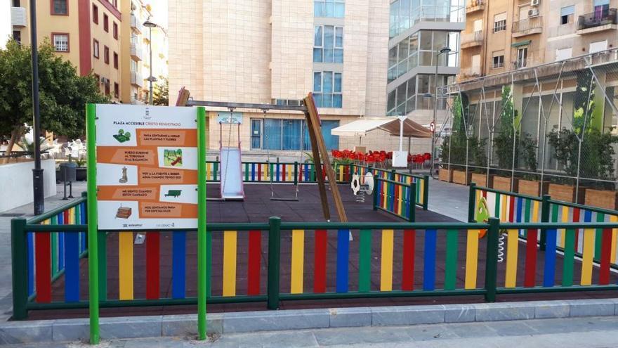 Murcia contará con una red de parques infantiles inclusivos