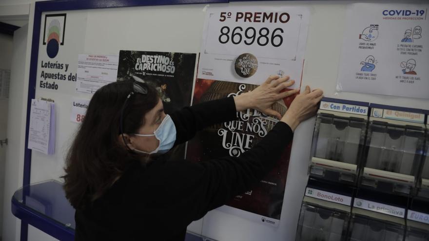 El 86.986, primer quinto premio de la Lotería de Navidad, vendido en Palma, Can Picafort y Calvià