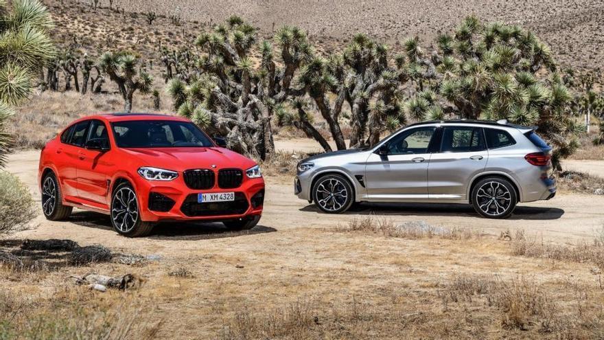 Los nuevos BMW X3 M y BMW X4 M