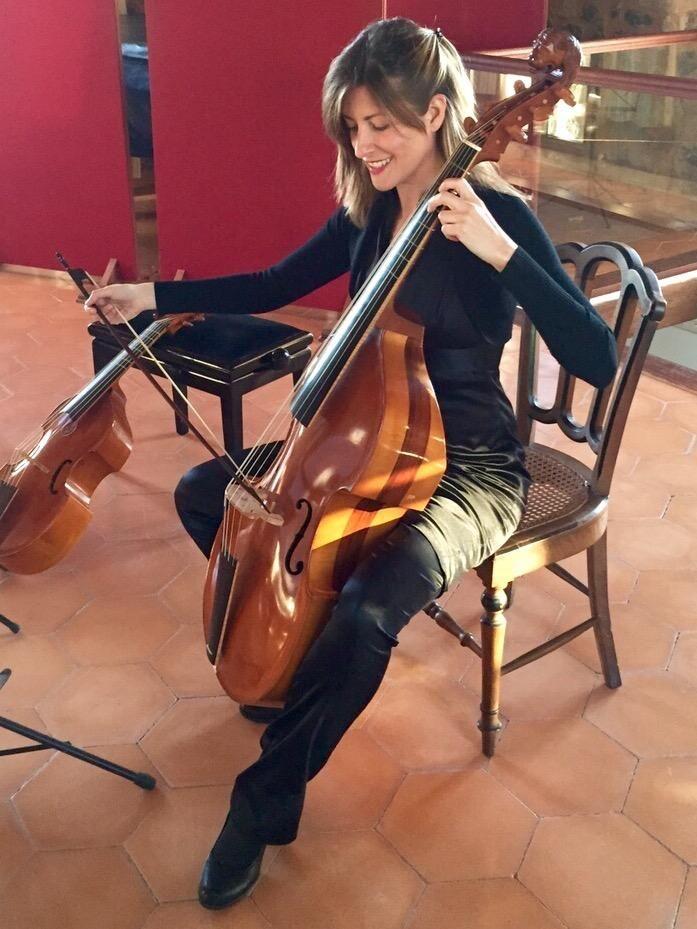 Rosa Cañellas, violonchelista