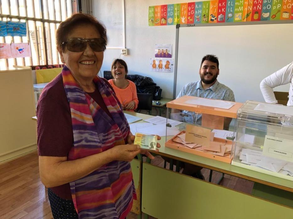 Las imágenes que nos dejan las elecciones autonómicas, europeas y municipales en la Región de Murcia
