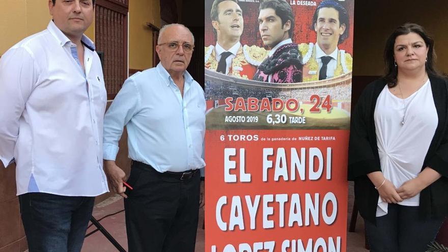 El Fandi, Cayetano y López Simón estarán en Cieza el 24 de agosto