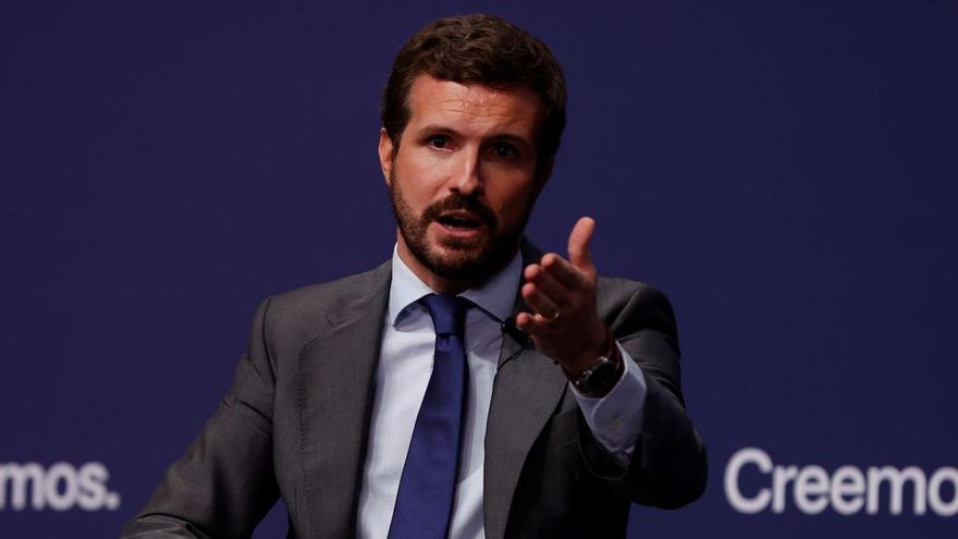 Casado anuncia que el PP llevará al Constitucional la reforma de la vivienda anunciada por el Gobierno