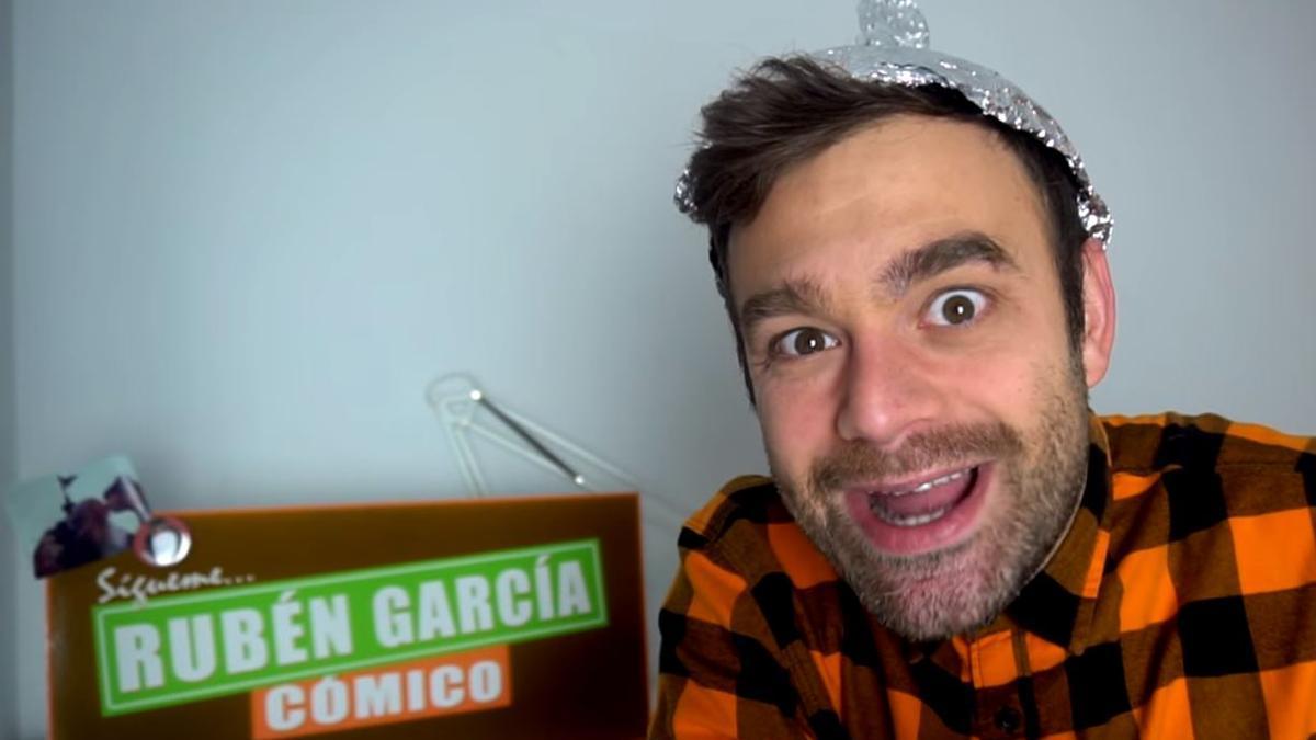 El cómico valenciano Rubén García.