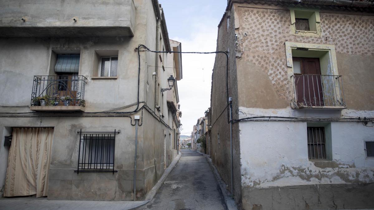 Pueblo de la España poco poblada.