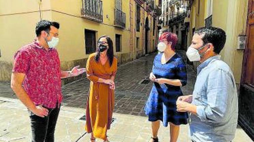 Marzà refuerza la candidatura de Micó para la refundación del Bloc