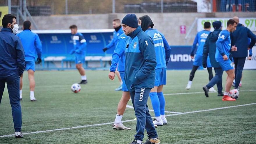 Jordi Roger: «Hay una necesidad imperiosa de ganar al Getafe»