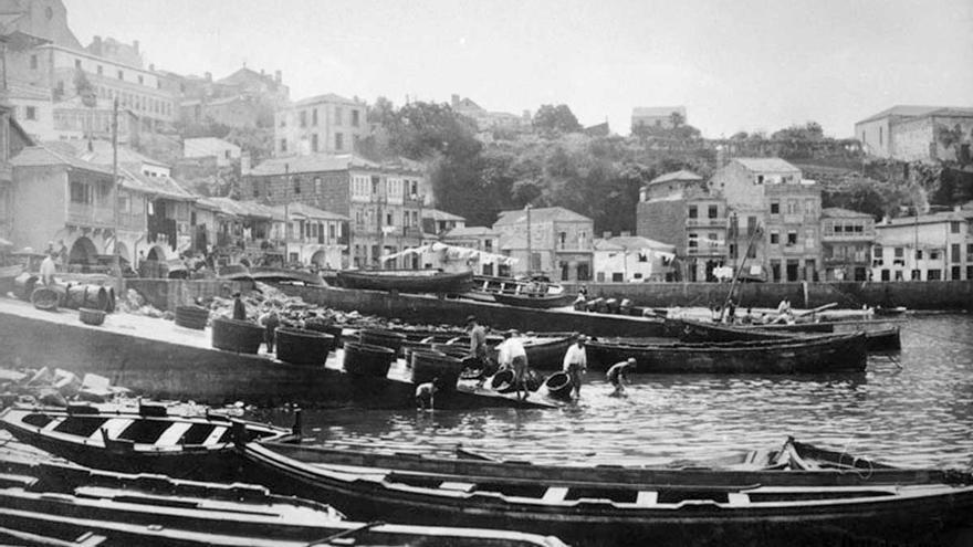 Vigo, como en una postal de principios del siglo XX