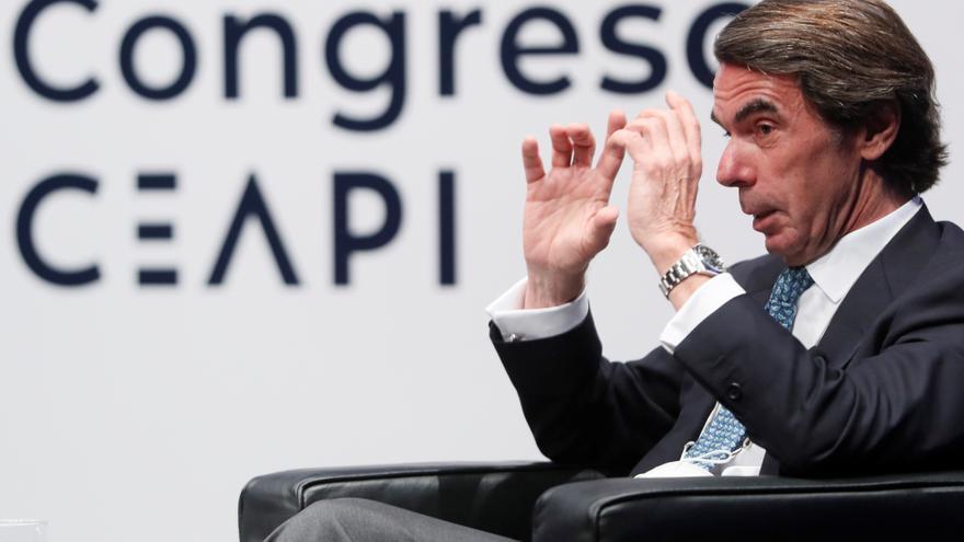 """Aznar prevé una """"radicalización"""" del Gobierno tras los resultados del 4M"""