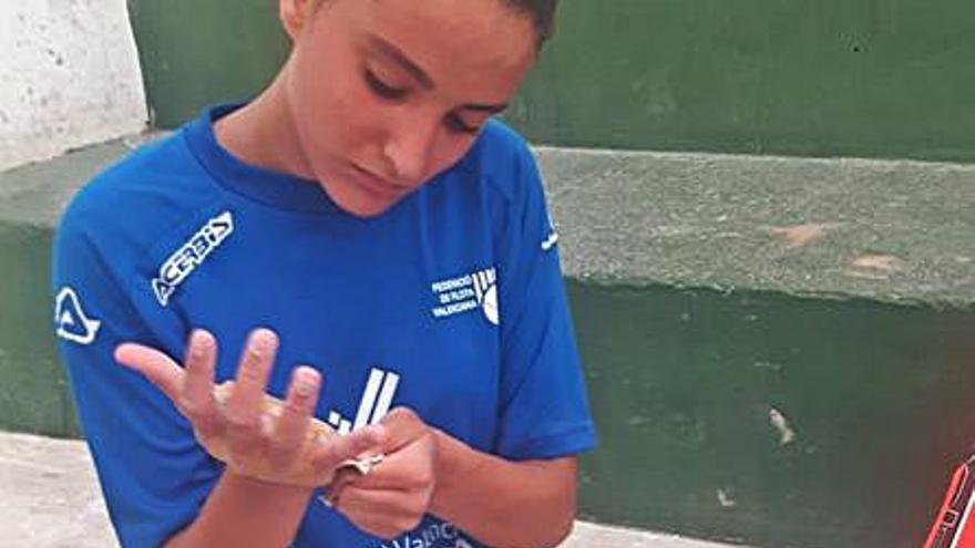 Júlia Andrada Alberola, tercera autonòmica en One Wall a pesar de ser debutant
