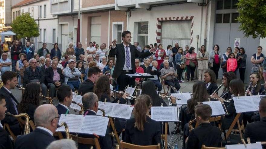 Turno para la Banda de Muimenta en los Concertos da Rúa
