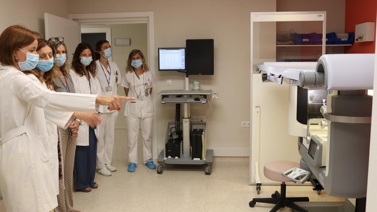 Concluye la reforma integral de la unidad de cáncer de mama del Reina Sofía tras tres meses