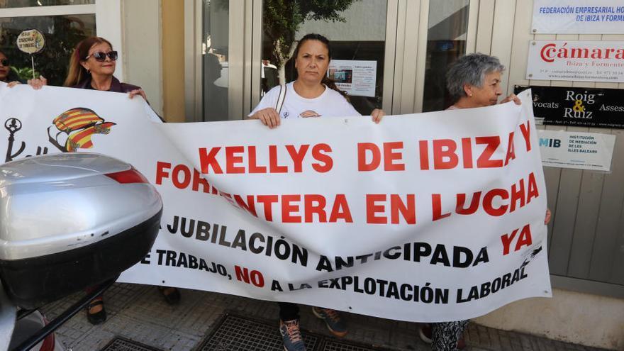 """Las kellys de Ibiza no se manifestarán este verano pero """"seguirán luchando"""""""