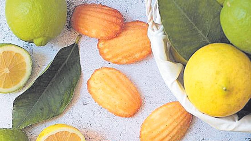 Madeleines de limón