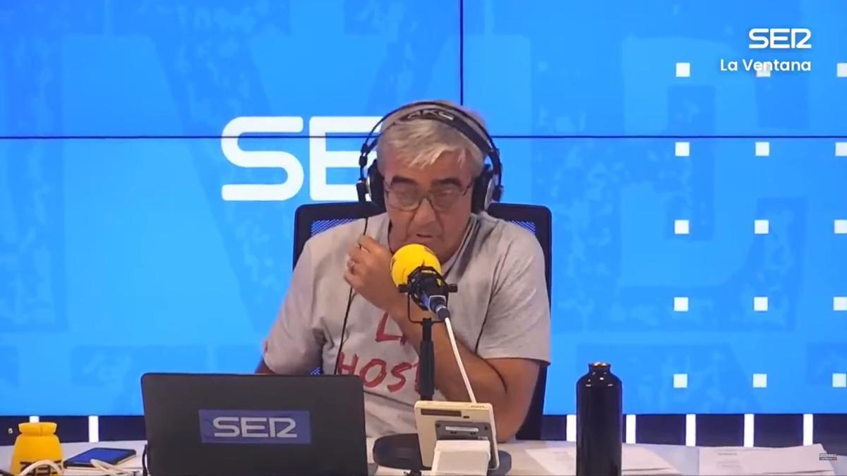 El periodista, Carles Francino.