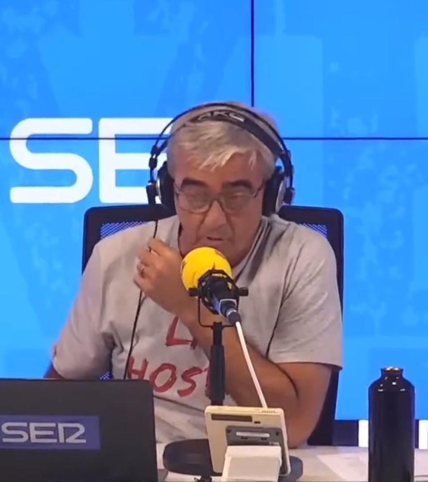"""Carles Francino, emocionado tras pasar por el coronavirus: """"Las pasé canutas"""""""