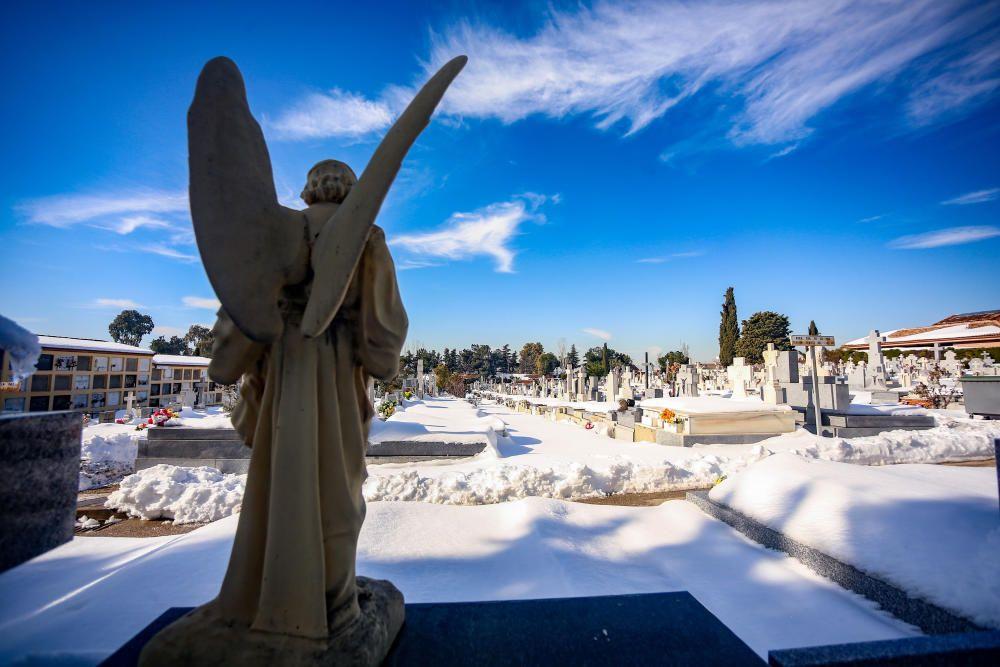 Cementerio de La Almudena en Madrid