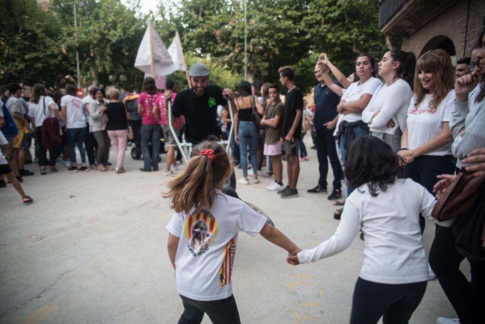 Manifestació a Cardona en favor del Correbou
