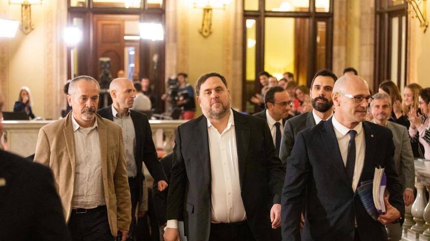 Junqueras i Romeva demanen al TC suspendre la pena de presó davant la pandèmia