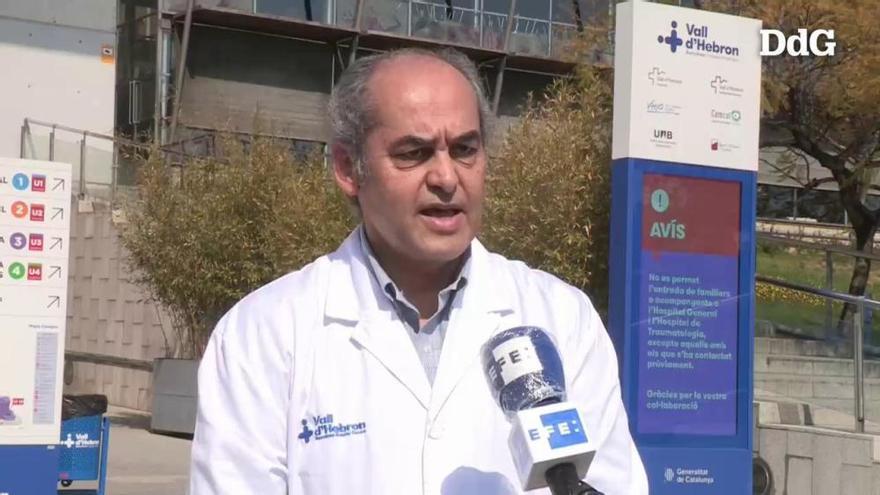 Vídeo: Un assaig clínic a Barcelona aconsegueix millores en un contagiat de covid-19