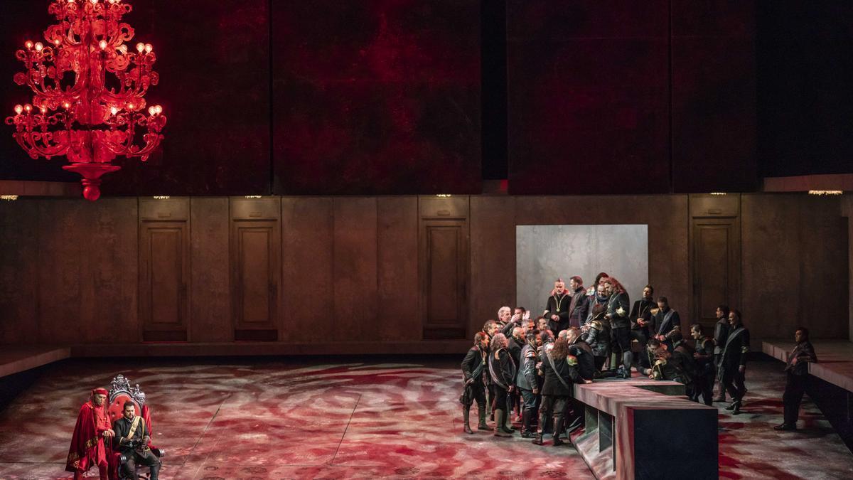 'Rigoletto', de Verdi, representada en Les Arts en 2019.
