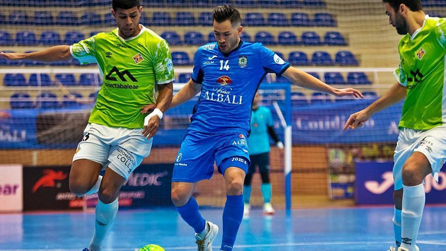 El Palma Futsal se conforma con el empate ante el Valdepeñas