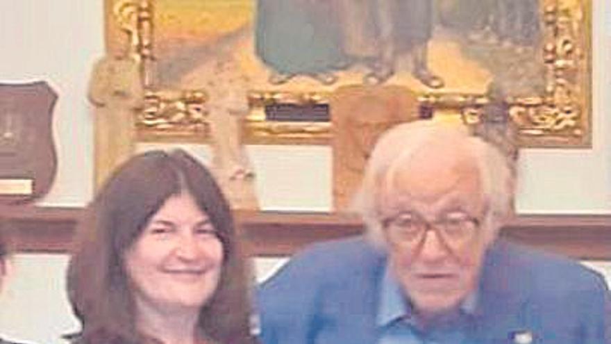 Tummy Bestard, presidente de honor de la Asociación Juníper Serra