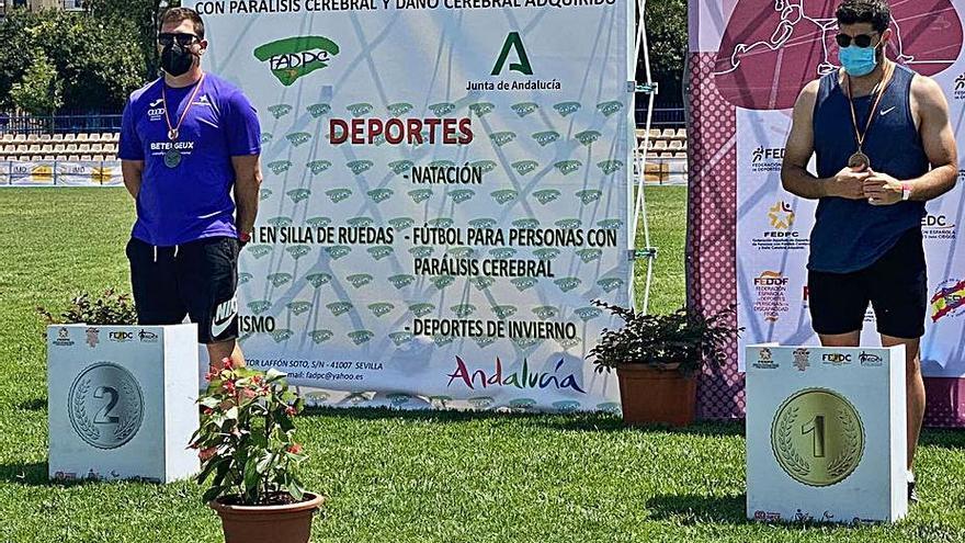 Héctor Cabrera, subcampeón nacional camino de Tokyo