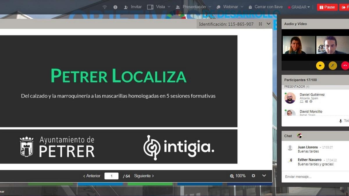 El curso Petrer Localiza comenzó el lunes.