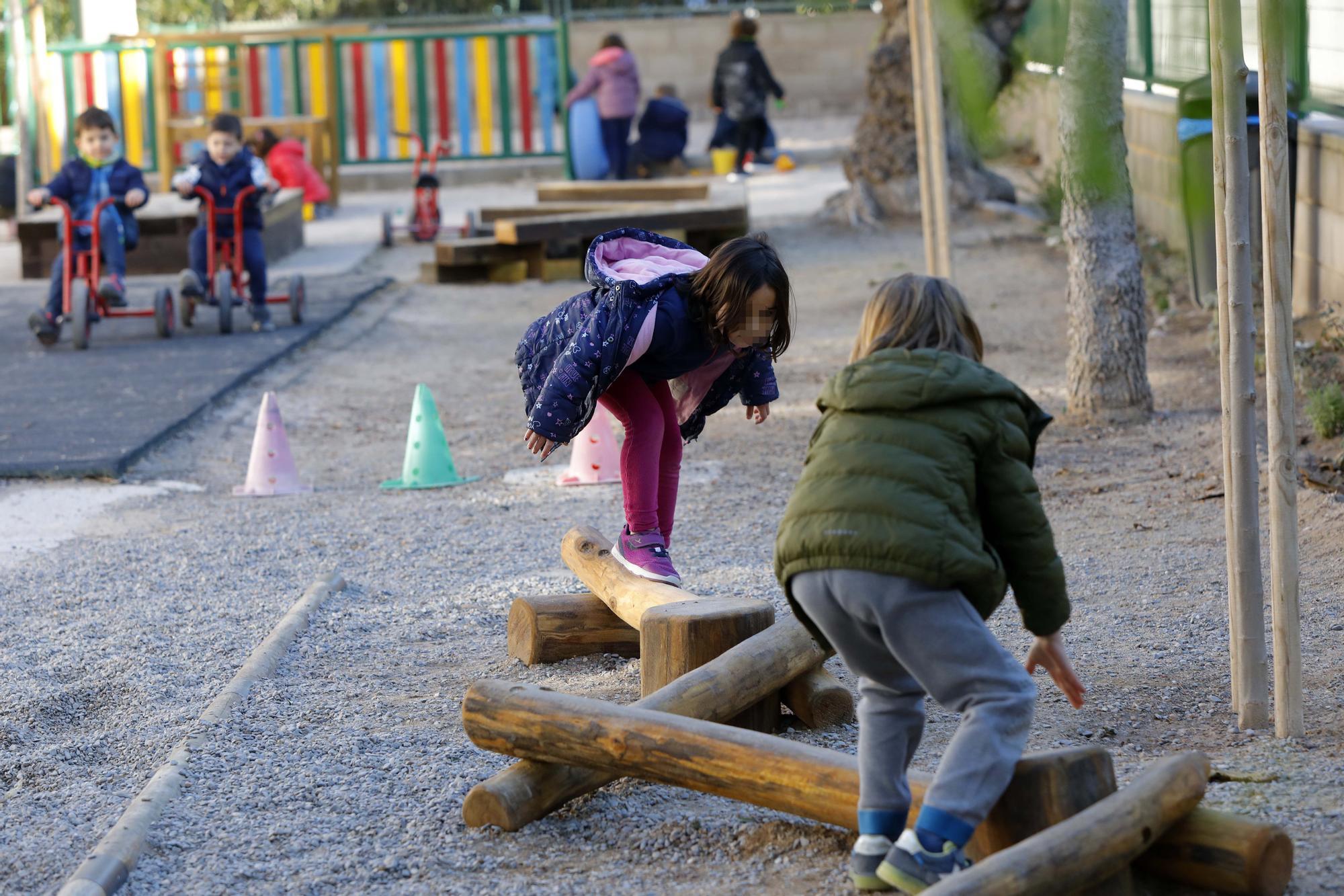 Patio igualitario e inclusivo en el Barranquet de Godella