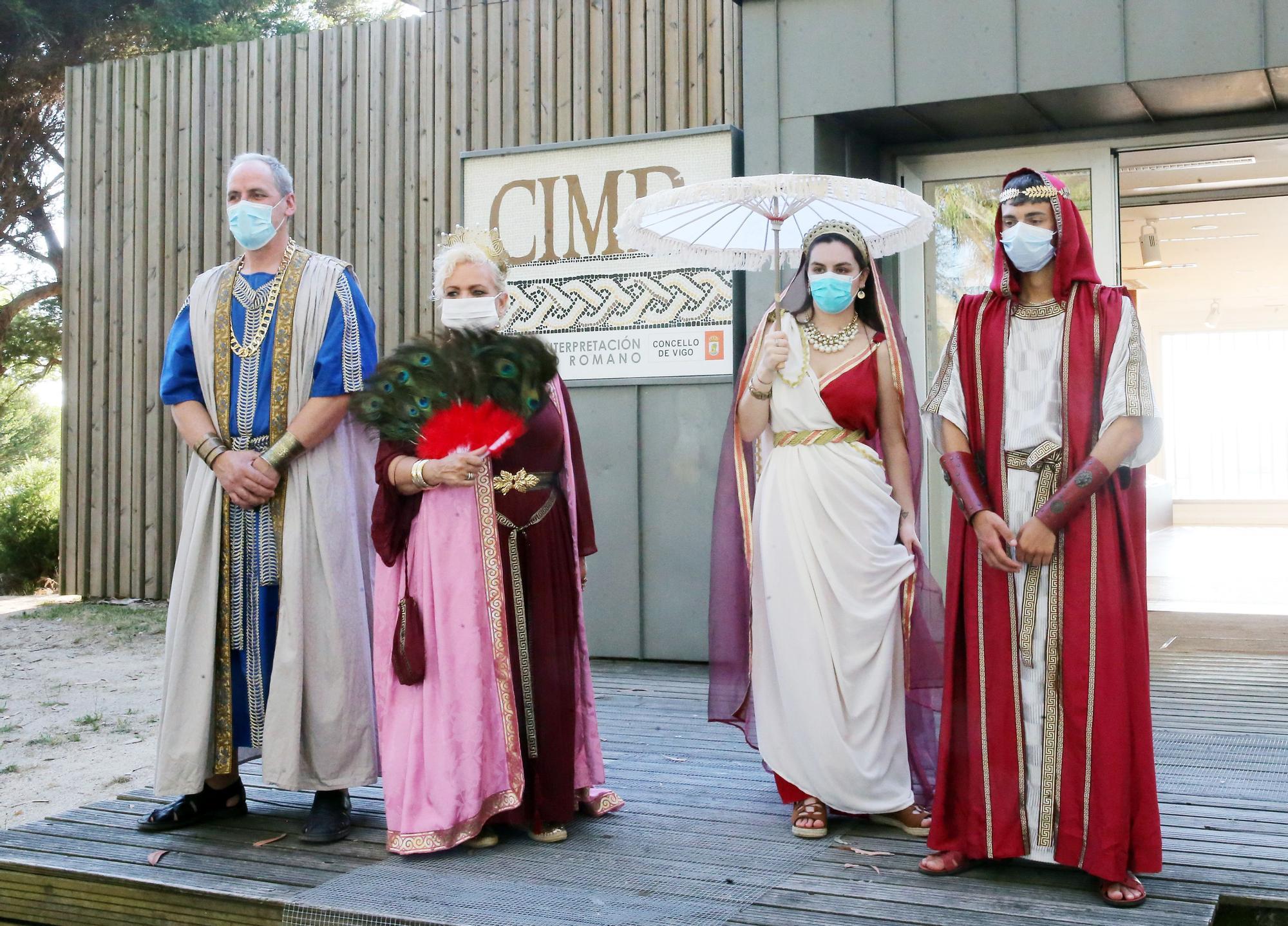 La Finca Mirambell se enfunda el traje del Imperio romano